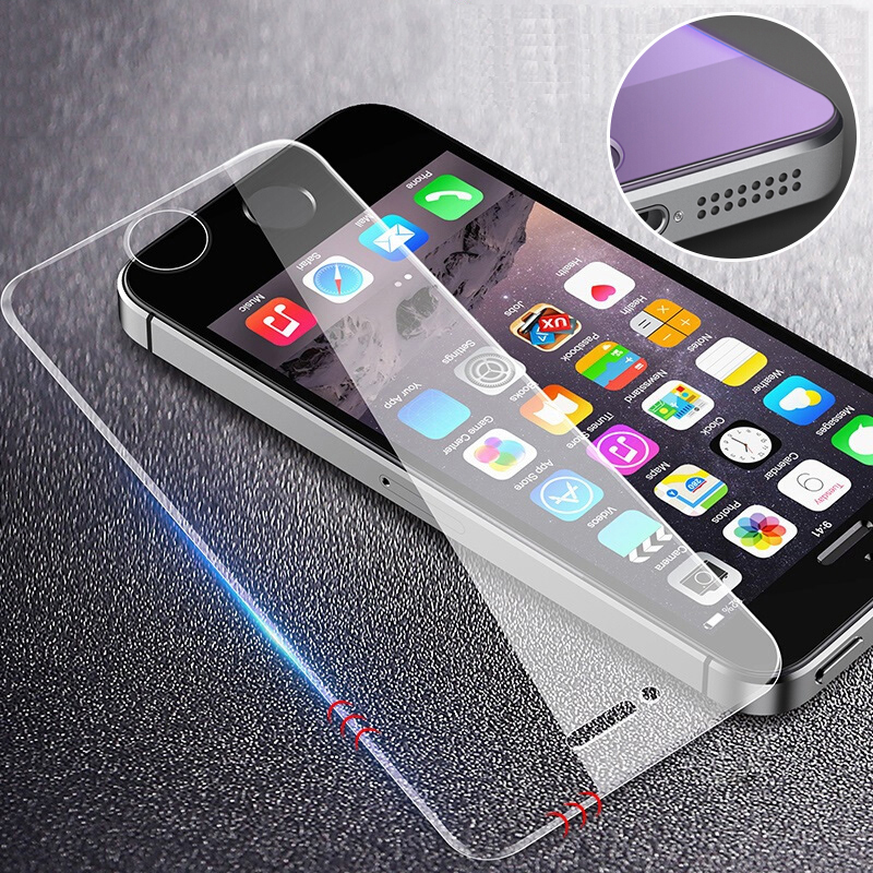 ZNP Protective Glass On For Apple iPhone 5s 5 se Screen Protectors Ultra Thin Premium Film 9H For iPhone 5 5s Tempered GlassZNP Protective Glass On For Apple iPhone 5s 5 se Screen Protectors Ultra Thin Premium Film 9H For iPhone 5 5s Tempered Glass