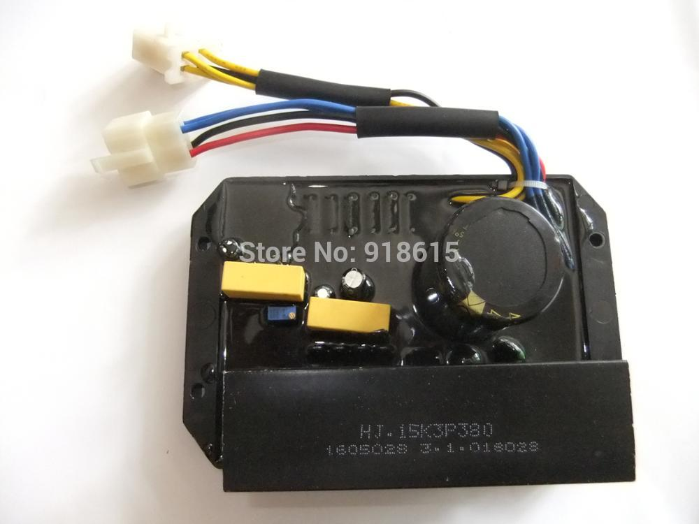 HJ.15K3P380 HJ15K3P380 AVR 三相自動電圧調整器発電機スペアパーツ  グループ上の 家のリフォーム からの ジェネレータ パーツ & アクセサリ の中 1