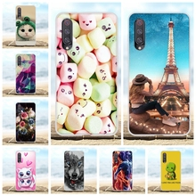 For Xiaomi Mi 9 Back Cover Ultra Slim Soft Silicone TPU Phone Case Candy Patterned Shell Capa