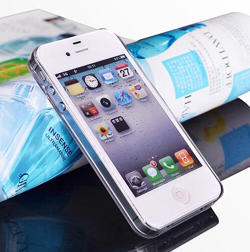 Hard Crystal Case for iPhone 7 8 Plus 6 6S 5S 5 SE 5C 4S Մաքուր - Բջջային հեռախոսի պարագաներ և պահեստամասեր - Լուսանկար 6