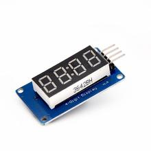 R7041 4 Bits Digital Tube LED Display Module With Clock Display TM1637 for Arduino Raspberry PI 5pcs/lot