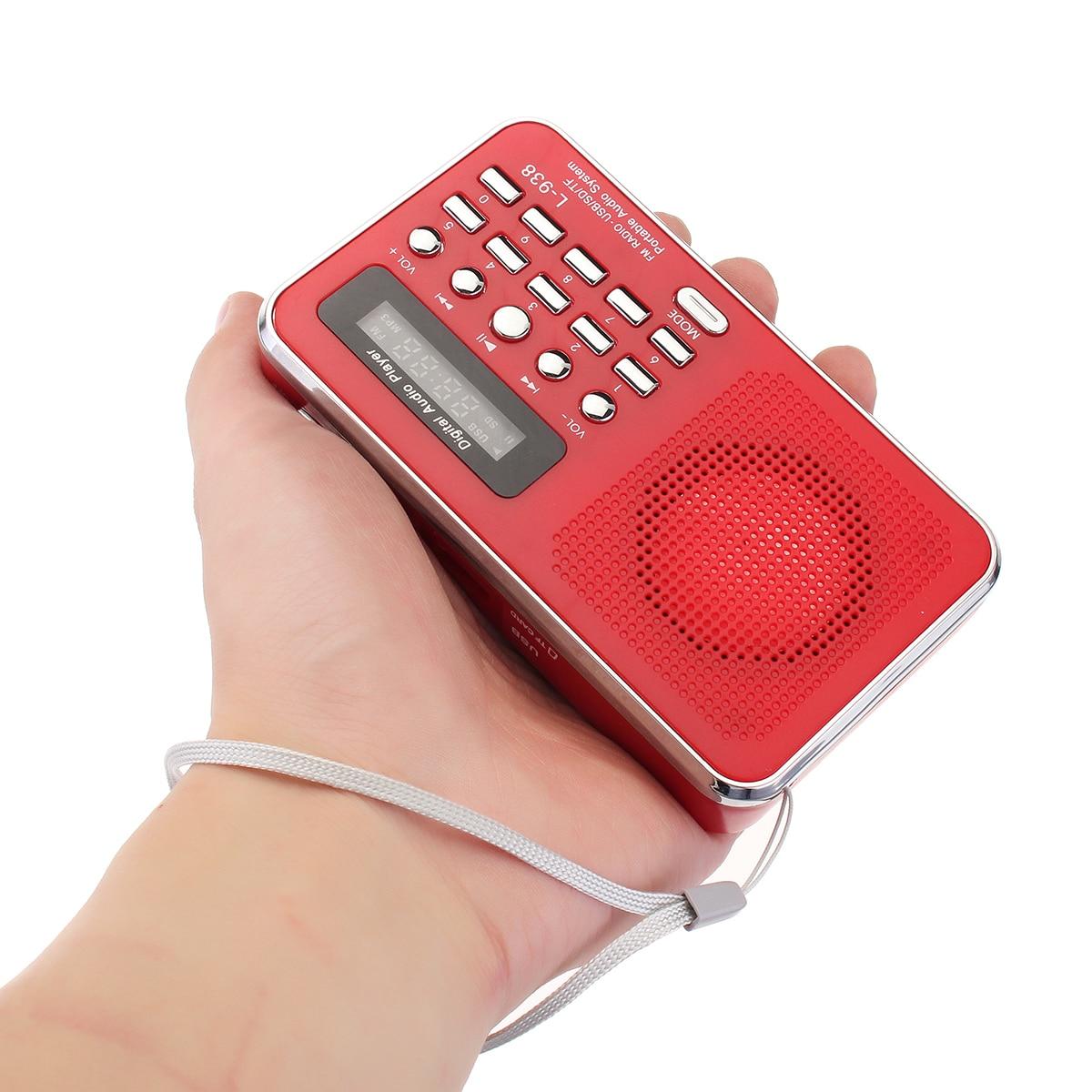 Bibel Audio Player Zurück Clip Design Tragbare Mp3 Player Lautsprecher Aux Sd Tf Karte Port Fm Radio Outdoor Walkman Für ältesten Geschenk SorgfäLtige Berechnung Und Strikte Budgetierung Hifi-player Unterhaltungselektronik