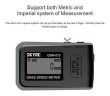 SKYRC GSM-015 GNSS GPS haute précision, compteur de vitesse pour RC FPV, Multirotor, quadrirotor, avion, hélicoptère