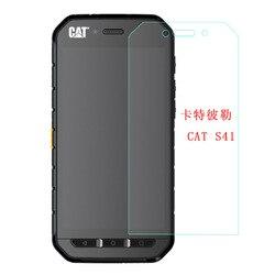 На Алиэкспресс купить стекло для смартфона 2.5d 9h tempered glass for caterpillar cat s41 9h high quality explosion-proof protective film screen protector for cat s41