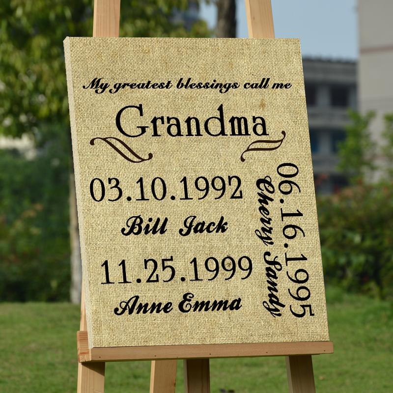 Anniversary Grandma And Family Members Wedding Decoration