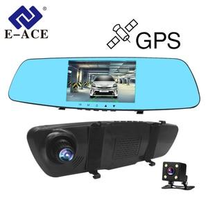 E-ACE 5.0 Inch Car DVRs Dash C