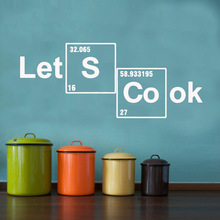 Creative Cook Wall Sticker Vinyl Decor For Kitchen Decorative Living Room Decoration Decal Stickers Murals wallstickers