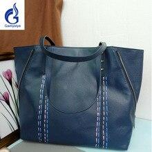 fca296663630 Women Casual Tote Genuine Leather Handbag Bag Fashion Vintage Large  Shopping Bag Designer Crossbody Bags Big Shoulder Bag Female