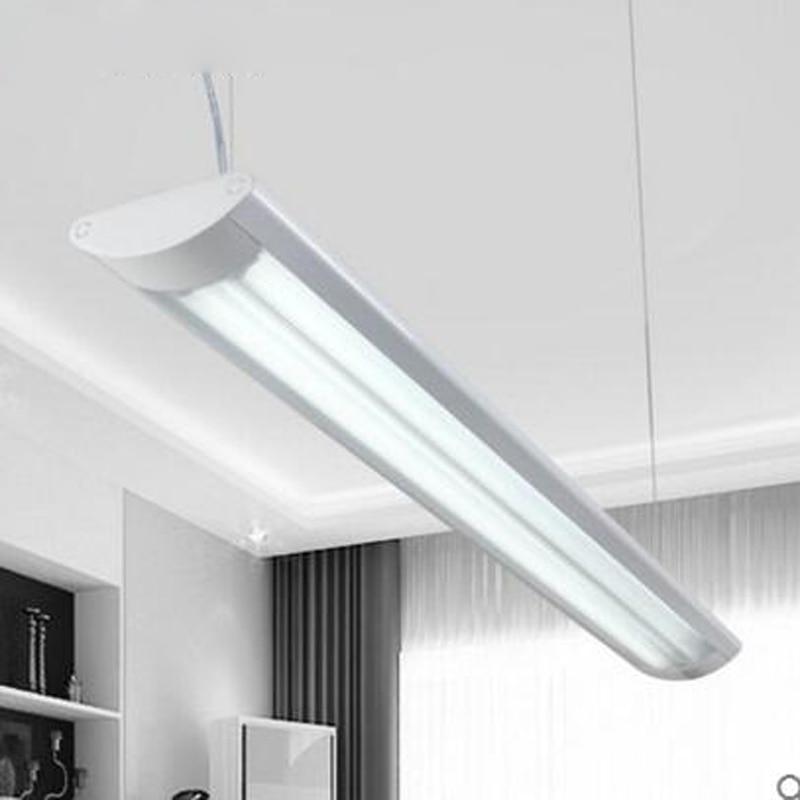 Lampe LED fluorescente ensemble complet de t8 double bande support lampe suspendus double usage bureau LED bureau luminaire lampes LED lumière