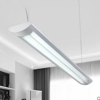 led fluorescent lamp full set of t8 dual stripe bracket lamp hanging dual use office LED office lighting fixture led lamps light