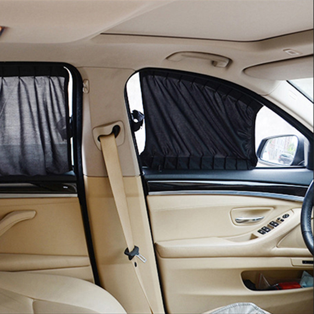 Car interior curtains - Aliexpress Com Buy Black Car Styling Car Curtains Car Sun Shade Interior Accessories Sunshade Uv Protection For Side Window From Reliable Protection For