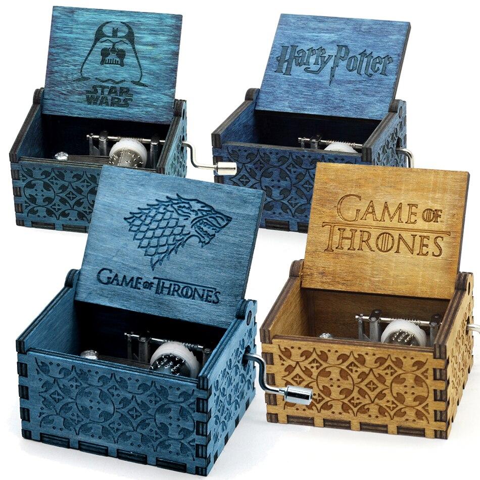 купить Two Colors Star Wars Music Box Game of Thrones Music Box  Music Theme Caixa De Musica A Birthday Present по цене 466.4 рублей