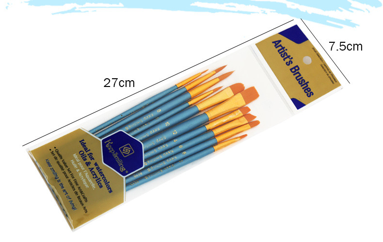Supplies Brush Art 10Pcs/Set 12
