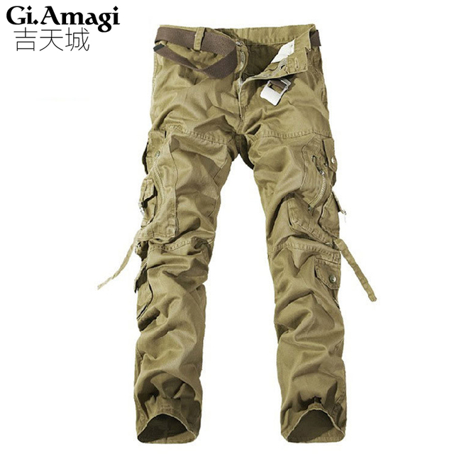 1ad0f4dcc2 NEW MENS CASUAL MILITARY ARMY CARGO CAMO COMBAT WORK PANTS Size 28-38  TROUSERS+FREE SHIPPING
