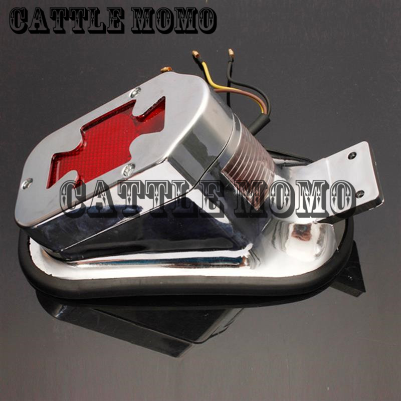 For Motorcycle Harley Chopper Bike Cross Rear Tail Brake License Plate Led Light Atv,rv,boat & Other Vehicle