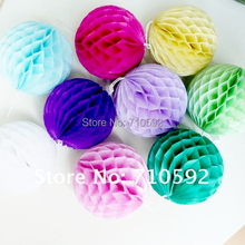 5pc 6inch(15cm) Tissue Paper Honeycomb Ball Decorations