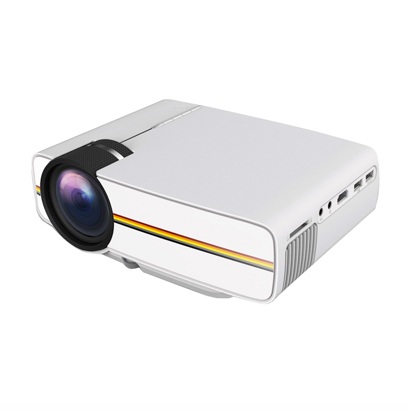 YG410 Mini Led Pocket Projector 1080P Draagbare Hd Homehold Projector Home Cinema Usb 3D Beamer Voor 138 Inch Scherm projectie - 3