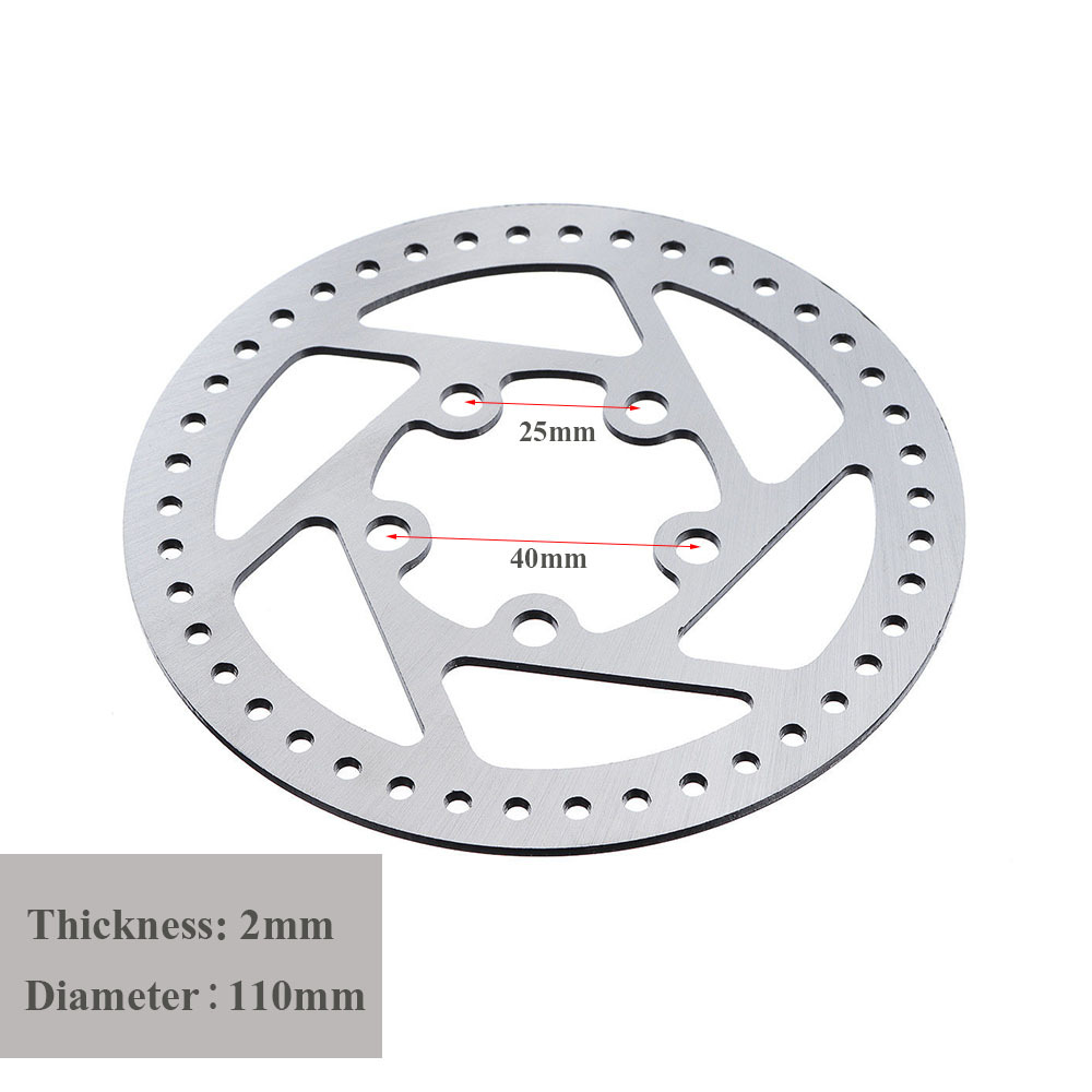 New Custom Stainless Steel High quality Disc Brakes only for XIAOMI MIJIA M365 Electric Scooter Brake pad Replacement Parts in Scooter Parts Accessories from Sports Entertainment