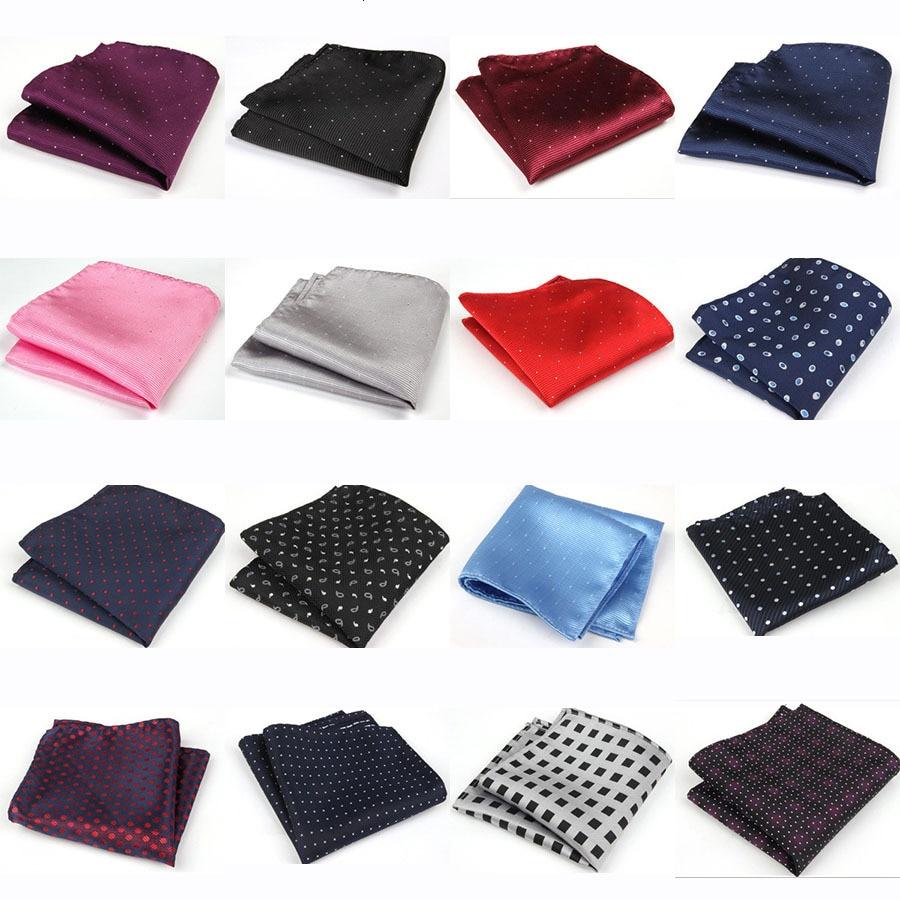 High Quality Handkerchief Scarves Vintage Hankies Men's Pocket Square Handkerchiefs Export Random Delivery 22*22cm
