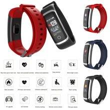 Timethinker Bluetooth Smart Bracelet Wristband Fitness Watch Heart Rate Blood Pressure Monitor Pedometer Smartband Waterproof M4 x9 bluetooth 4 0 heart rate monitor smartband tpu strap black