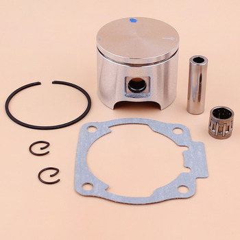 цена на 46MM Piston Ring /Cylinder Gasket Bearing Kit For Husqvarna 55, 55 Rancher Chainsaw Parts 503608171 / 503 60 81-71