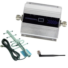 LCD Screen GSM 850Mhz CDMA 850MHz Repeater Booster Cell Phone Mobile Signal Repeater Amplifier & Yagi Antenna Set