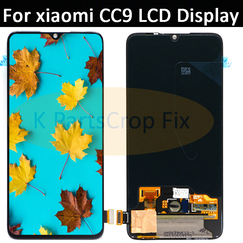 6.39'' Super AMOLED For Xiaomi CC9 LCD Mi CC9 Display Touch Screen Digitizer Assembly Replacements Parts for Xiaomi Mi cc9 LCD-in Mobile Phone LCD Screens from Cellphones & Telecommunications    1