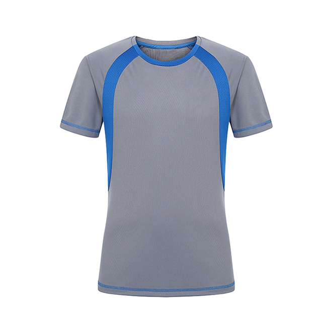 1852411b333e Mens Summer Leisure Quick Dry Wicking Breathable T Shirt Men Outdoor Sport  Running Hiking Camping Climbing Short Sleeve T-shirt