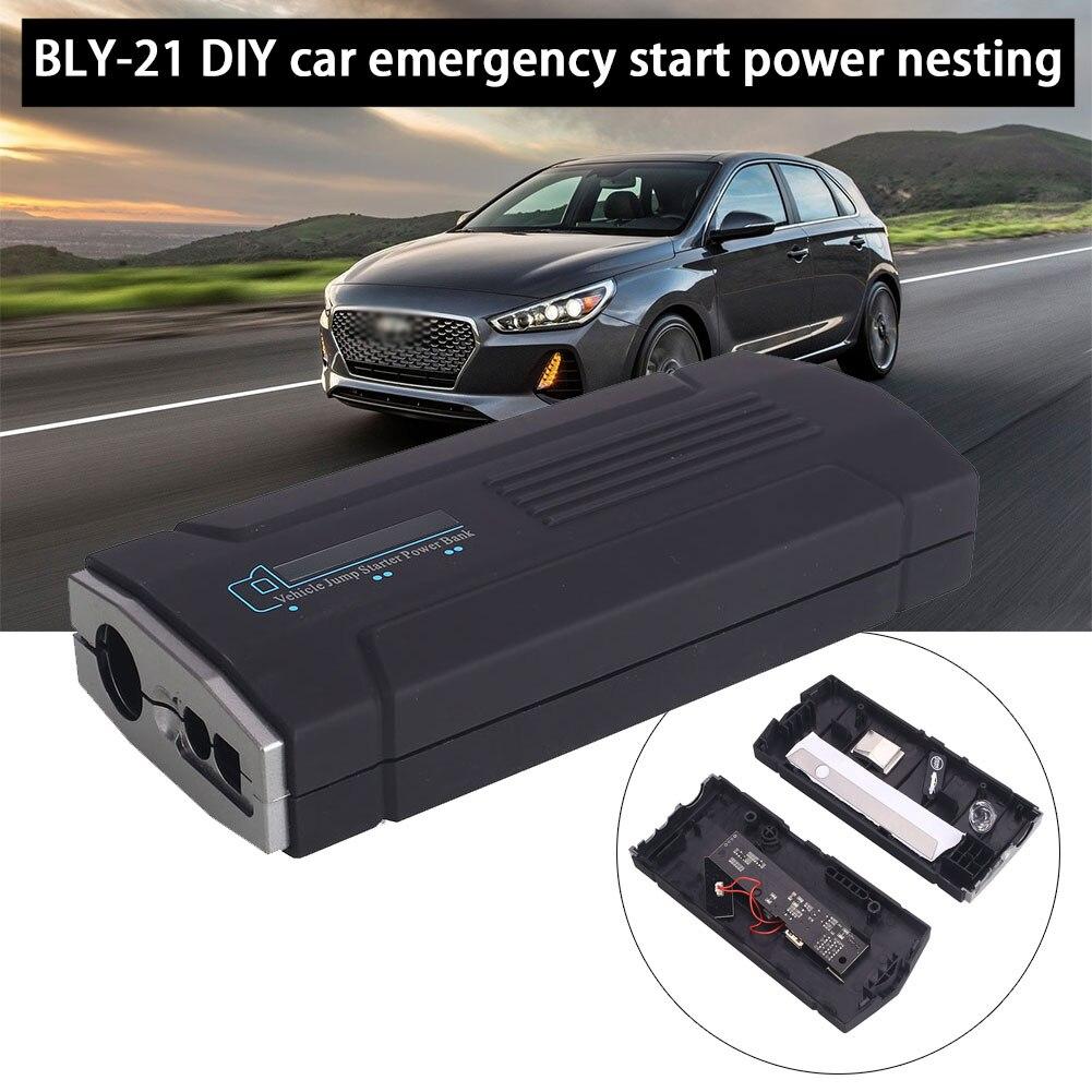 Vehemo 15V USB DIY Multi-Function Jump Starter Kit Charger Booster Power Supply Power Kit Battery Charger Car Jump Starter Kit