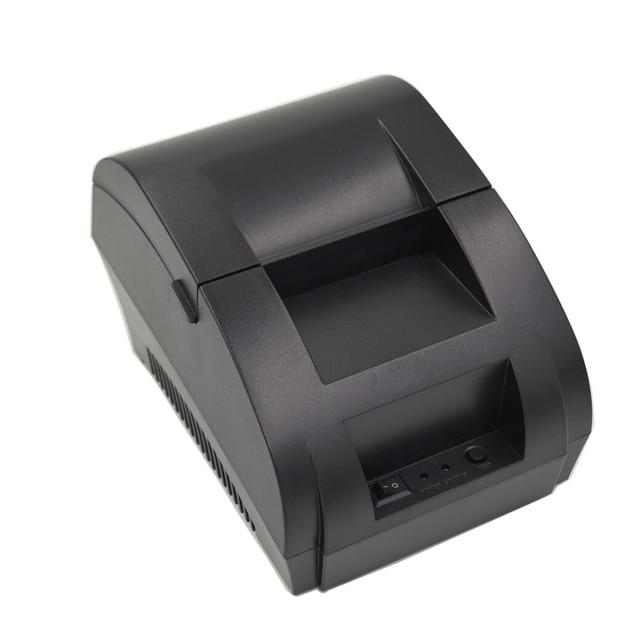 Мини 58 мм Тепловой Получение Билетов Ккм 90 К Термопринтер Интерфейс USB Ресторан Билл Принтера
