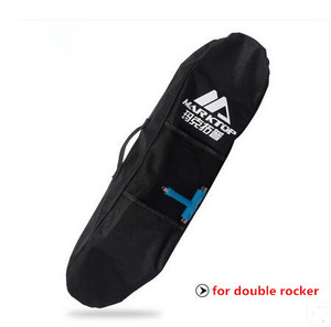 Image 2 - Qualidade REINO UNIDO Marca Marktop único ombro sacos de skate com 3 modelos feitos por 400 & 600D tecido para o tamanho 87*30 cm para o skate