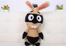 New plush Animal stuffed toy masked rabbit Soft Toy doll Kid gift 21.5