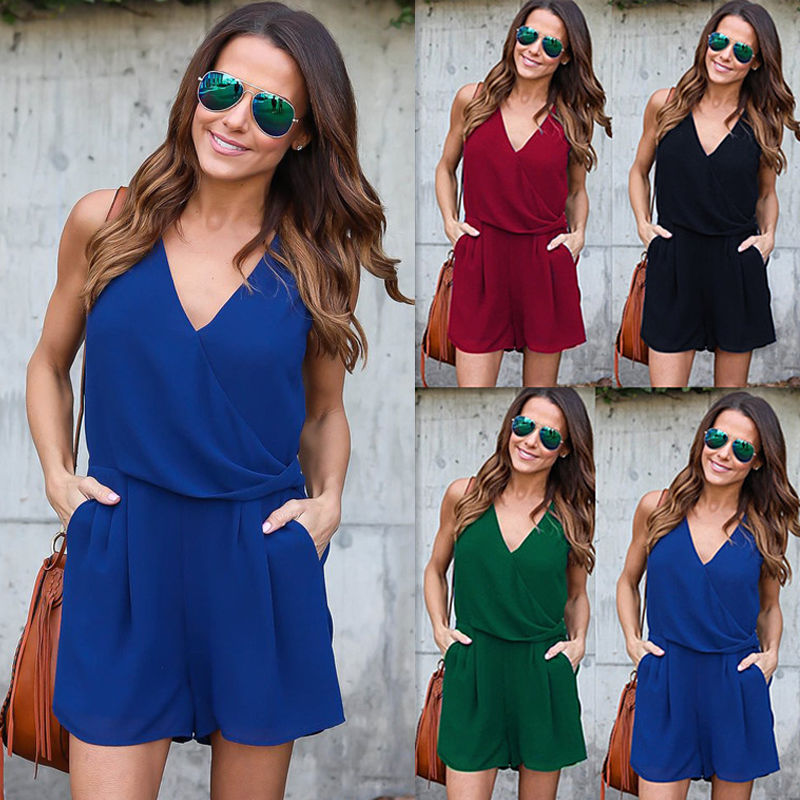 13e8fb118f NEW Women Ladies Clubwear Summer Playsuit Bodycon Party Jumpsuit Romper  Trousers Jumpsuits   Rompers