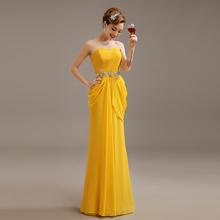 Cheap Yellow Evening Gowns
