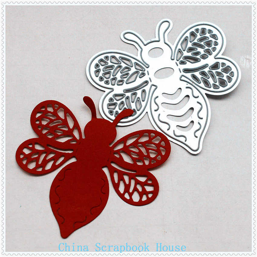 Bamboo-copter Metal Cutting Dies Stencil For Scrapbooking Paper Cards