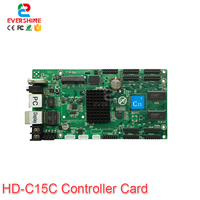2019 Huidu HD C10 C10C C30 Upgrade To HD C15 C15C C35 C35C The 3th Generation of Asynch Full Color LED Screen Control Card