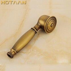 Varejo & atacado sólidos de cobre de bronze antigo handheld Cabeça de Chuveiro de Mão chuveiro batnroom luxo YT-5175