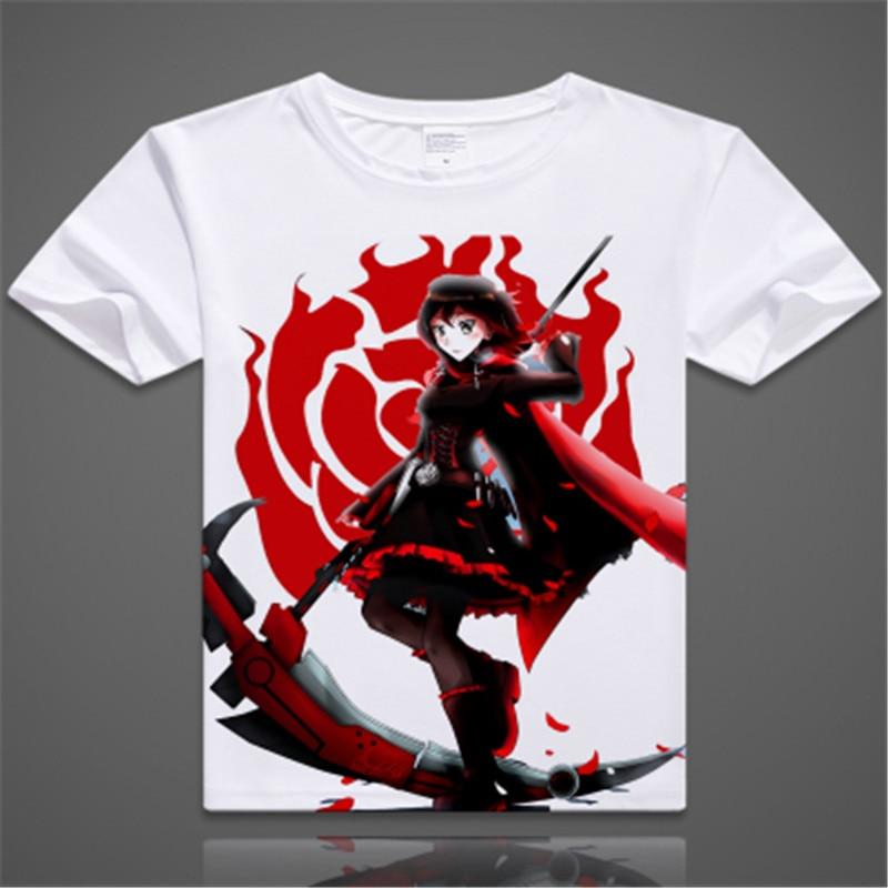 Ruby Rose Cosplay Rwby T Shirt Rwby T Shirt Halloween