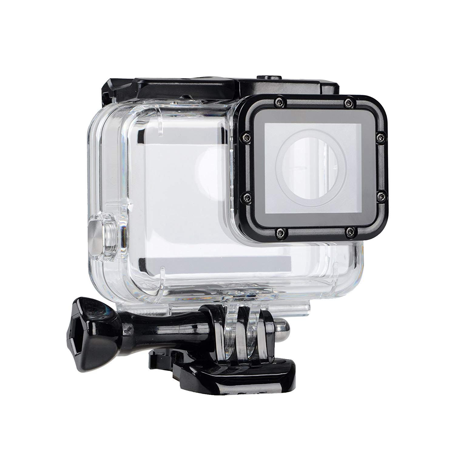 Waterproof Case Diving Protective Housing Shell 45m with Bracket Accessories for Go Pro Hero 2018 Hero7 Hero6 Hero5 Action Cam image