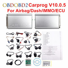 Online Version Carprog V8.21 & V10.0.5 With Full 21 Adapters Car Prog Programmer For Airbag/Radio/Dash/IMMO/ECU Auto Repair Tool