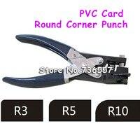 Spedizione gratuita carta del pvc e carta rotonda angolo punch puncher slot punch formato: R3 R5 R10