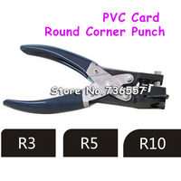 free shipping pvc card and paper round corner punch puncher slot punch size:R3 R5 R10