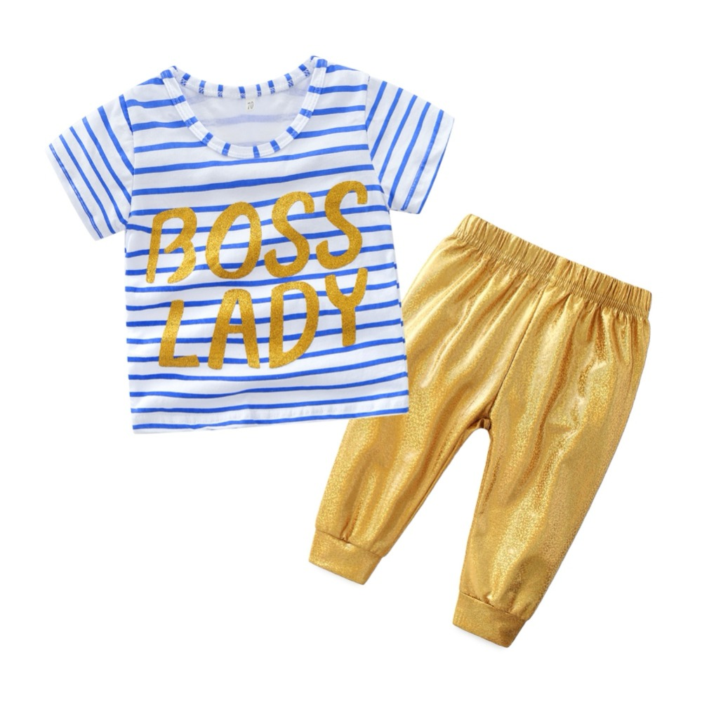 Baby Children Sets Casual Clothes Cotton Short Sleeve Letter Printed Tops +Imitation Leather Pants Summer Autumn 98pcs set 1 5 10mm high speed steel titanium coated cobalt hss co steel twist drill bit set power tools wood metal drilling