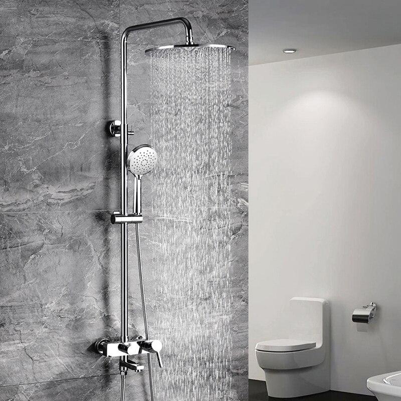 hideep multi function shower set head body sprays hand shower head water saving shower head 3