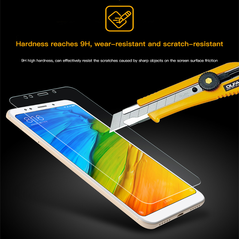 Transparent Screen Protector Tempered Glass For Xiaomi Mi Mix Max 2 3 9 8 6 SE Lite HD Protective Film For Redmi Note 7 Pro in Phone Screen Protectors from Cellphones Telecommunications