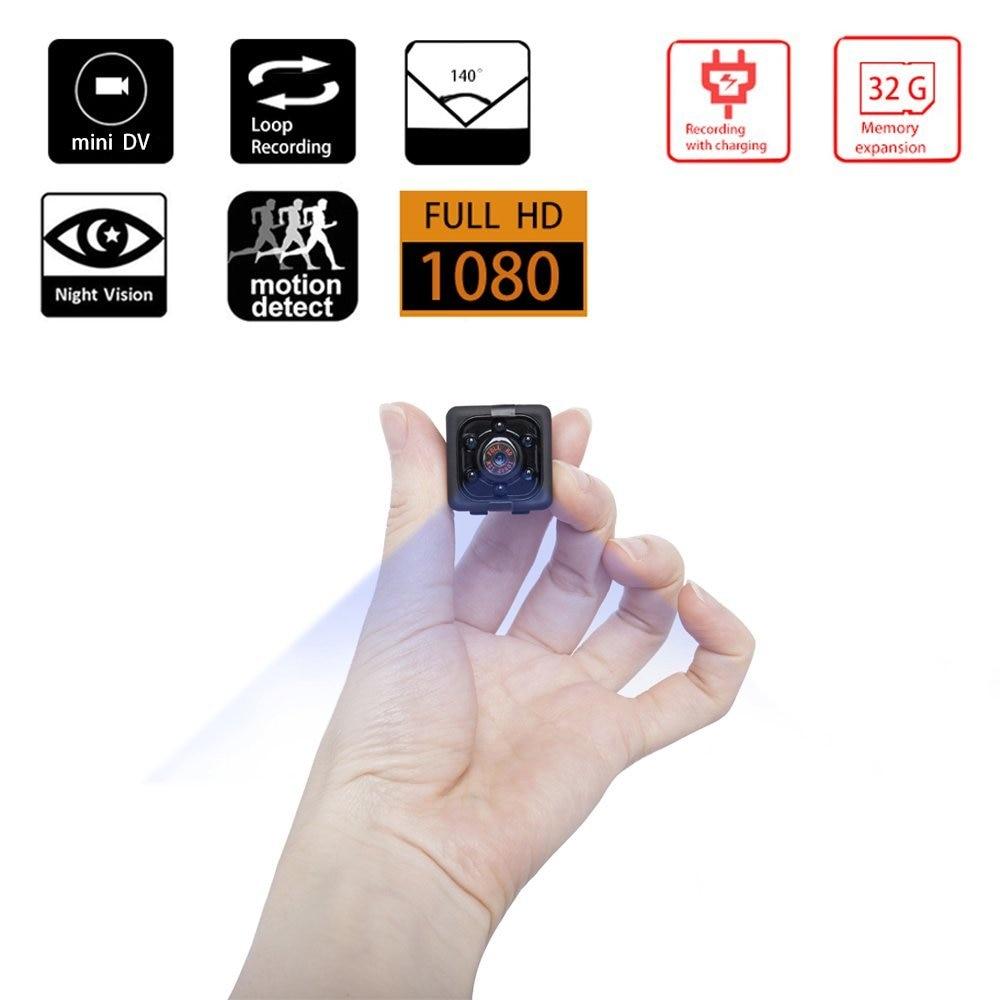 Mini camera SQ11 full HD 1080P DVR Camcorder Night Vision Sports DV Video voice Built-in speacker free shipping SQ 11 PK SQ12