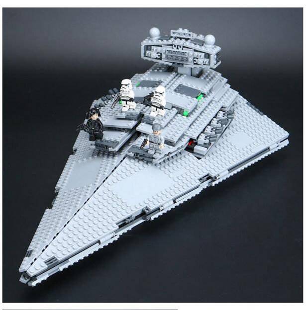 lepin 05062 star war building blocks imperial super star destroyer set educational starwar bricks compatible toy gift 75055 in blocks from toys hobbies on - Gros Lego Star Wars