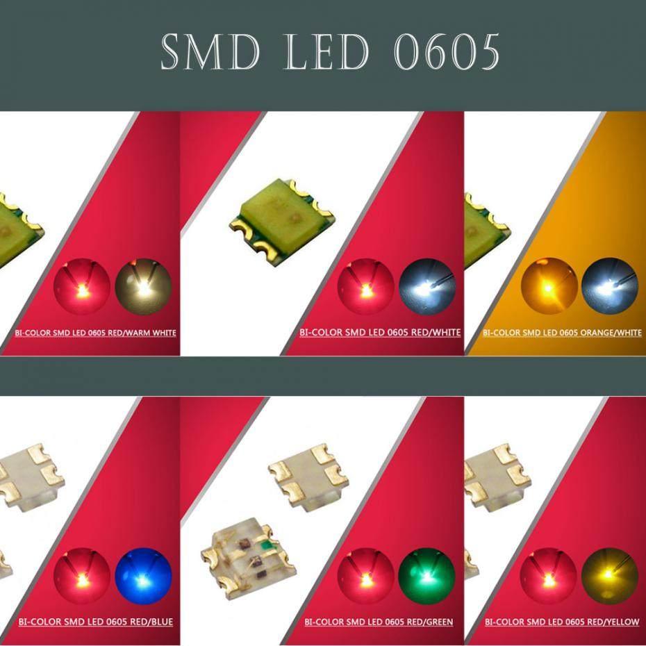 SMD LED 0603 GOLDEN WHITE RÖTLICH reddish warm wit blanc chaude weiss