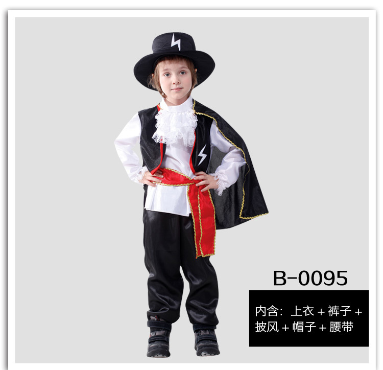 new arrive halloween christmas pirate costumes girls party cosplay costume for children kids clothes 3