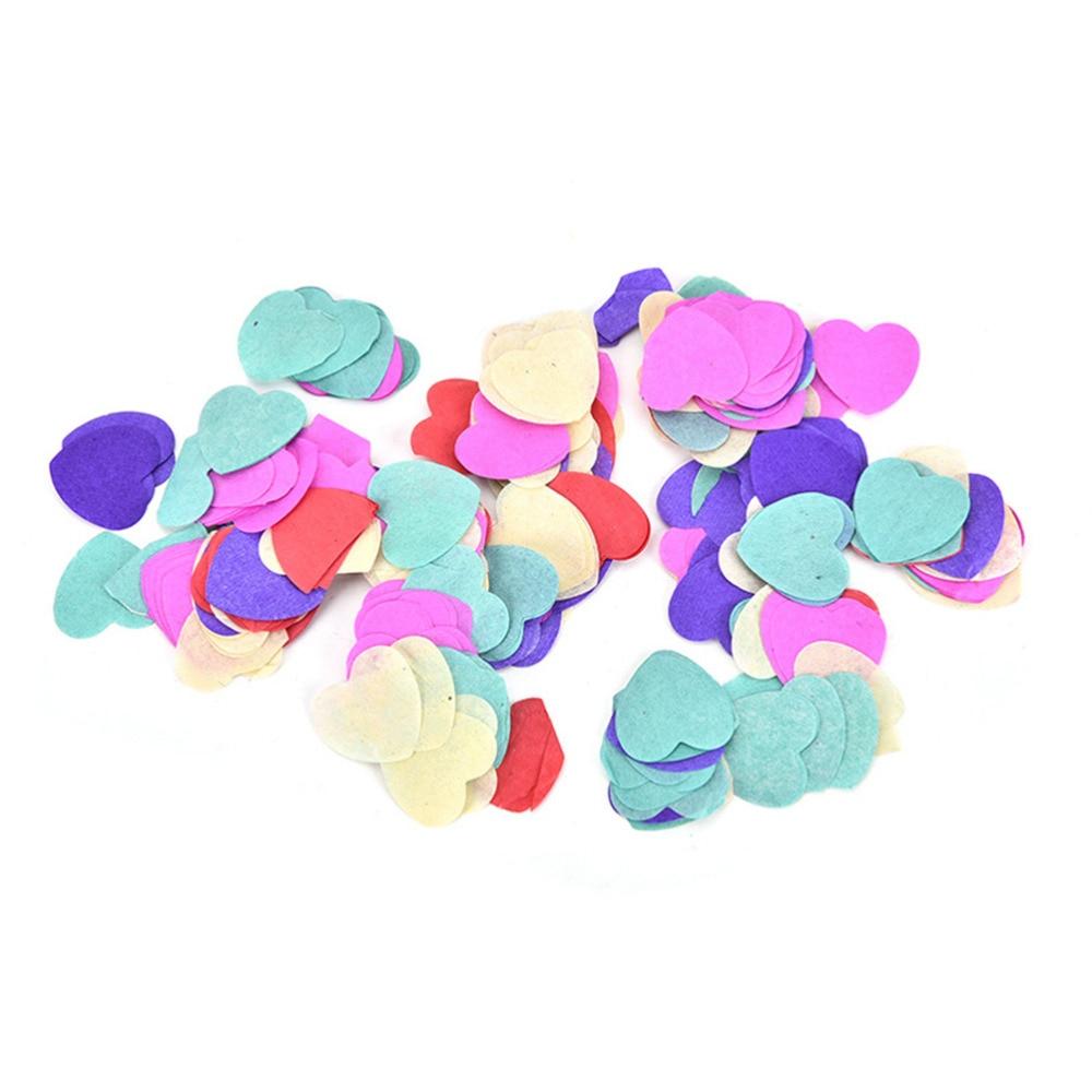 Multicolor Confetti Romance Plastic Home Birthday Party Wedding Table Decoration